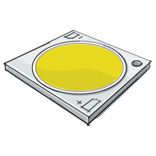 Fortimo FastFlex LED board 2x4/740 DA G3